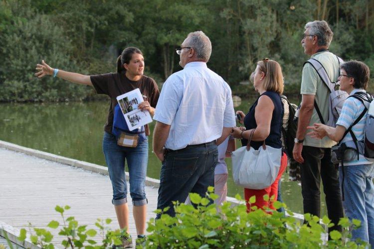 Visite guidée pour les groupes au parc des oiseaux