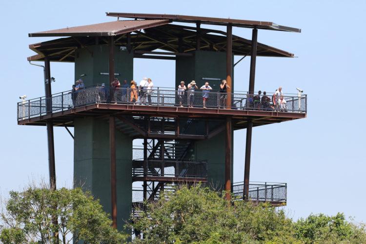 Tour panoramique avec le public